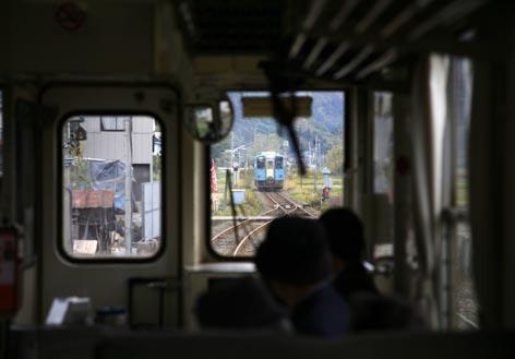 乗りテツ宣言3/あけぼの個室で紅葉の秋田内陸縦貫鉄道♪