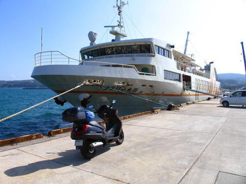 【日本縦断オートバイの旅】7日目/ロケット基地の種子島へ
