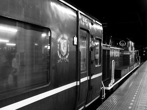 日本で唯一となったJR急行「はまなす」にお別れ乗車