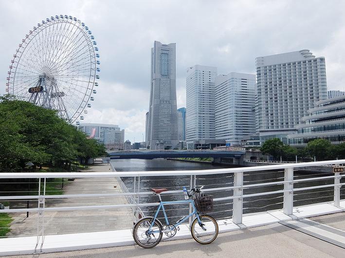 久しぶりの横浜中心地ポタリング