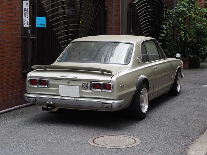 GT-Rのパトカー