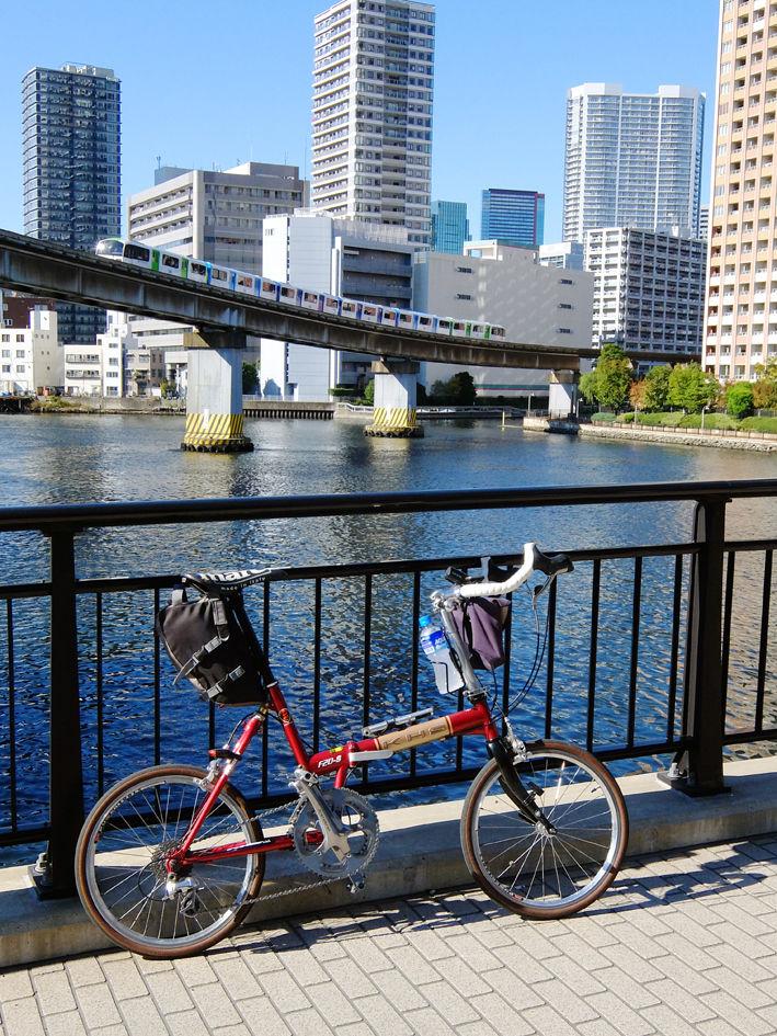 丸井自転車店を探せ!?  東京湾岸ミニベロサイクリング