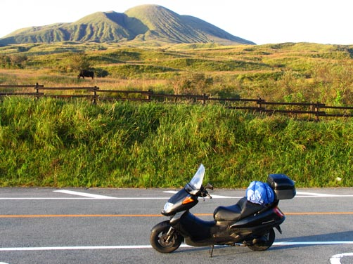 【日本縦断オートバイの旅】4日目/阿蘇~鹿児島