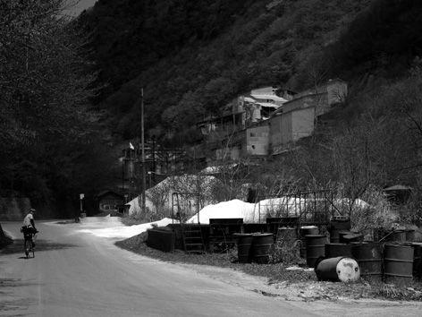 山サイ/八丁峠と鉱山集落の廃墟跡
