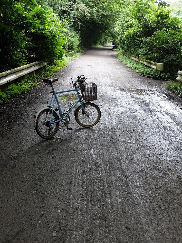 昨日は雨の止み間に林道走行へ!!