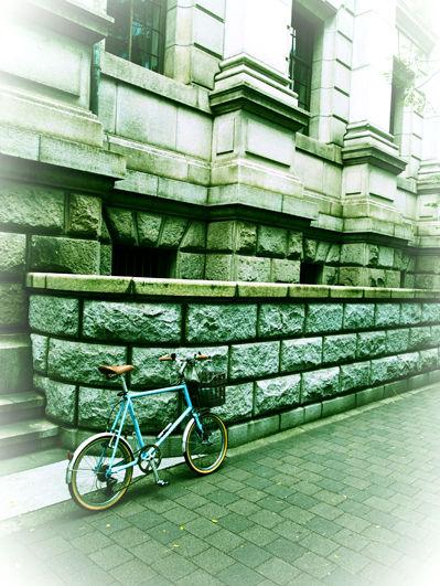 久々の営業サイクリング=色付く横濱の街と馬車道情景