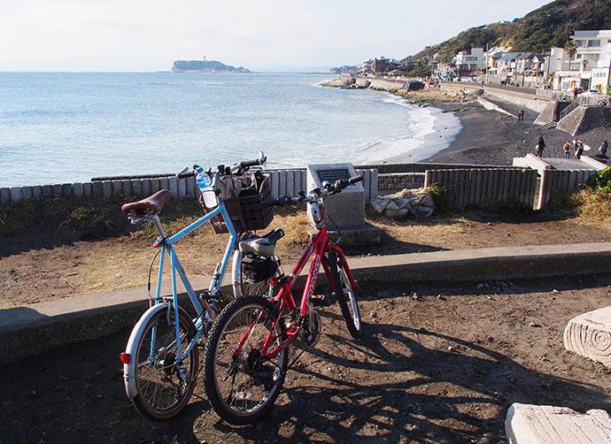 親子サイクリング、再び江ノ島・鎌倉へ♪