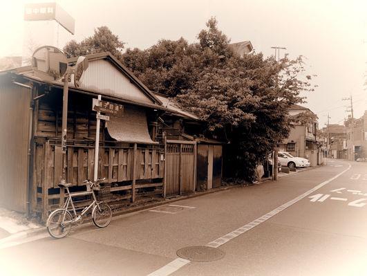 ジブリ作品の自転車と浜マーケット
