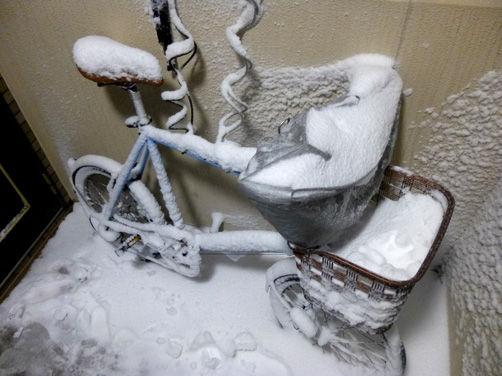 残雪サイクリング営業、無事終了!!