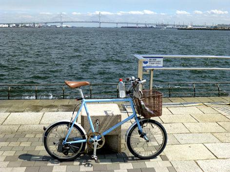 秋晴れの横浜ラーメンポタ?  いえ仕事です♪。