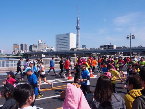 東京マラソン2017と老舗自転車屋訪問