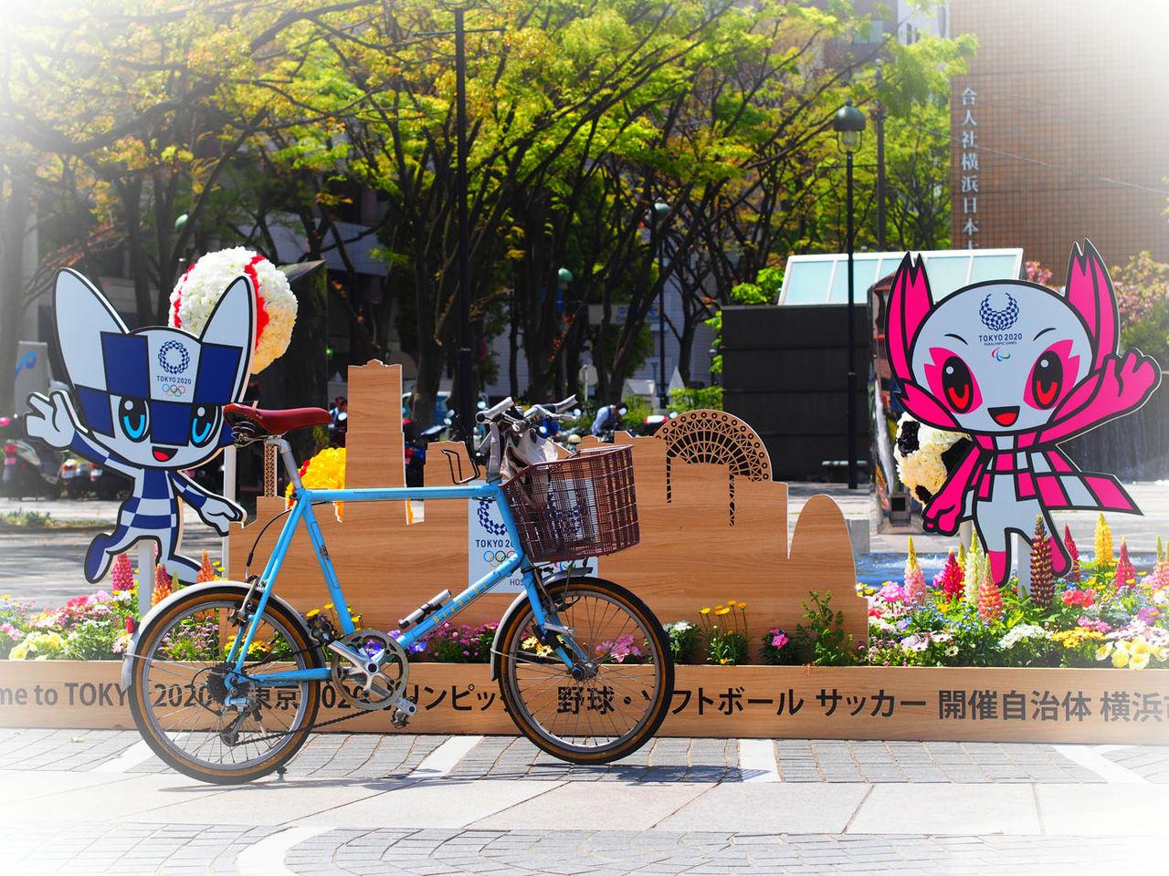 花と新緑、楽しく営業サイクリング♪