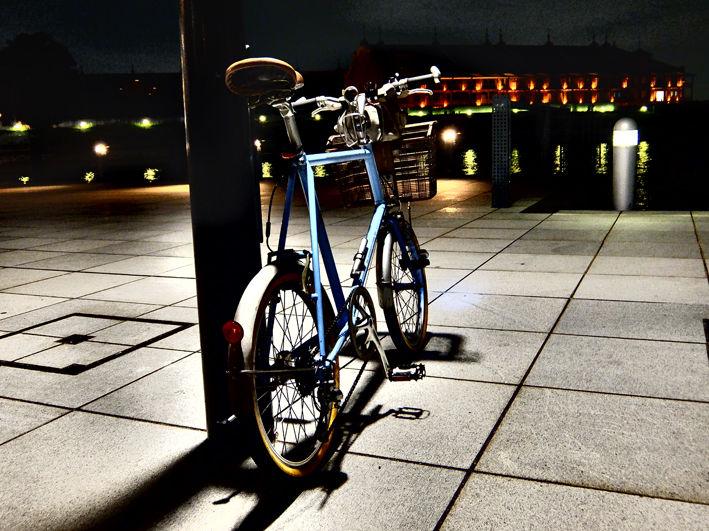 自転車と鉄道と