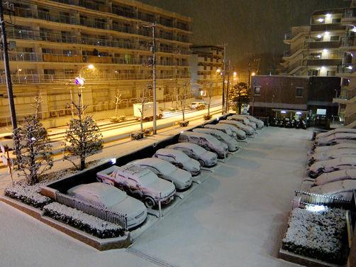 都会の電車は雪に弱すぎです(汗)