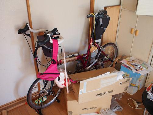 自転車趣味と育児生活の両立は大変なのです。