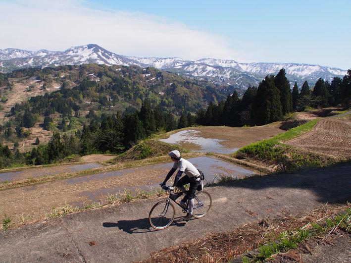 新潟県頸城(くびき)棚田サイクリング