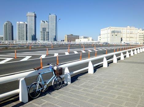 非ロード。本日はプライベートB級横浜サイクリング♪