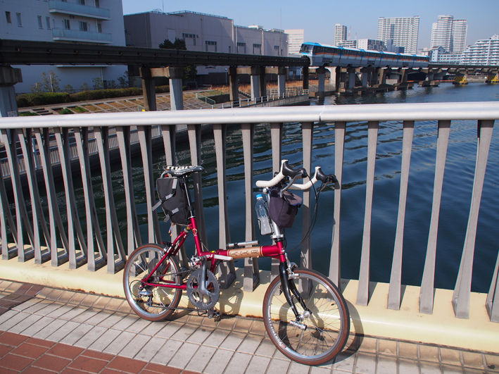 東京湾岸サイクリング 横浜から柴又帝釈天へ