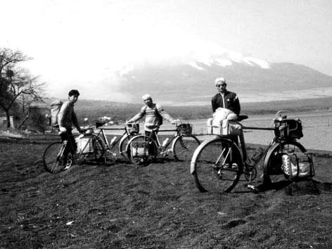 自転車キャンプツーリングの名残、男キャンプ2013
