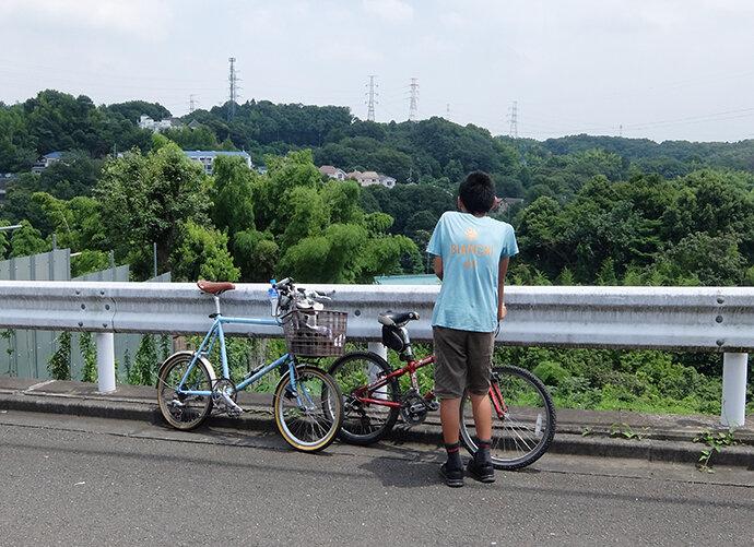 夏の小野路へ  親子サイクリング