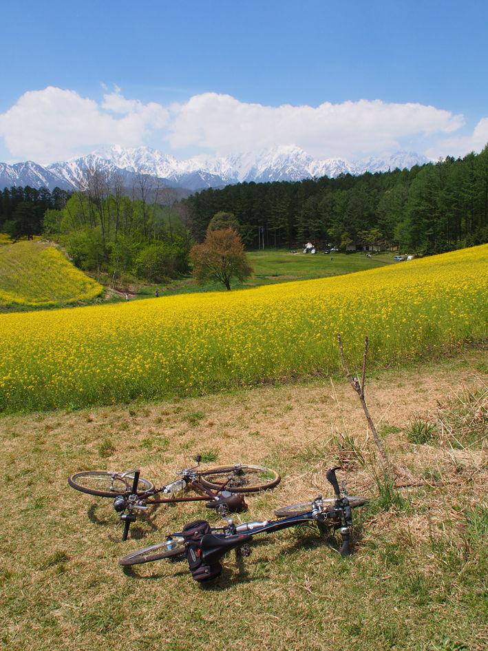 北アルプス絶景サイクリング2018〈1日目〉 仁科三湖と大笹七通林道