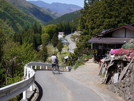 栃本集落と八丁峠/2013年5月走行