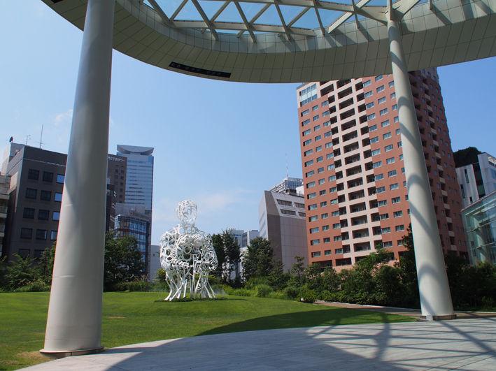 暑さで東京散歩撤退!!  そして再び夕涼みポタへ♪
