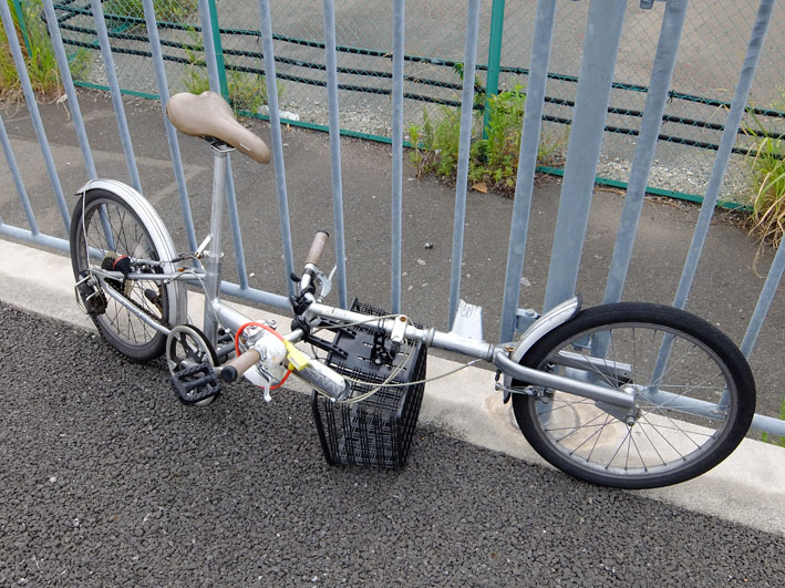 自転車ツーリングの悲劇……