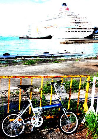 自転車ブームに便乗!? すぐにやめないでね。