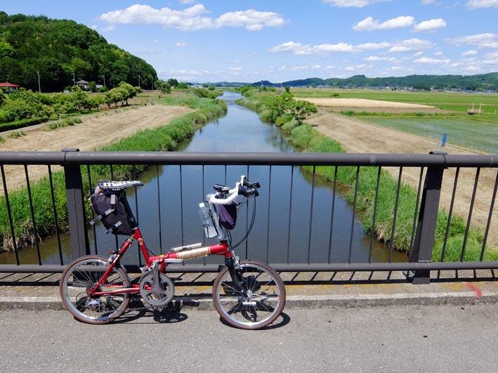 ミニベロで関東の一都六県を1日で走破の271km!!