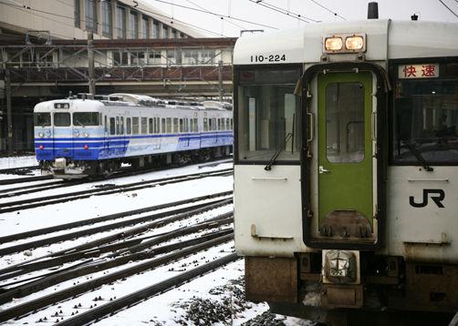 夜行列車で雪国旅への誘い