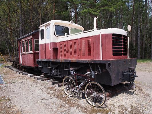自転車、鉄道、カメラ=旅