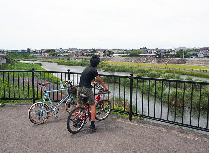 開港記念日 境川・和泉川親子ポタリング