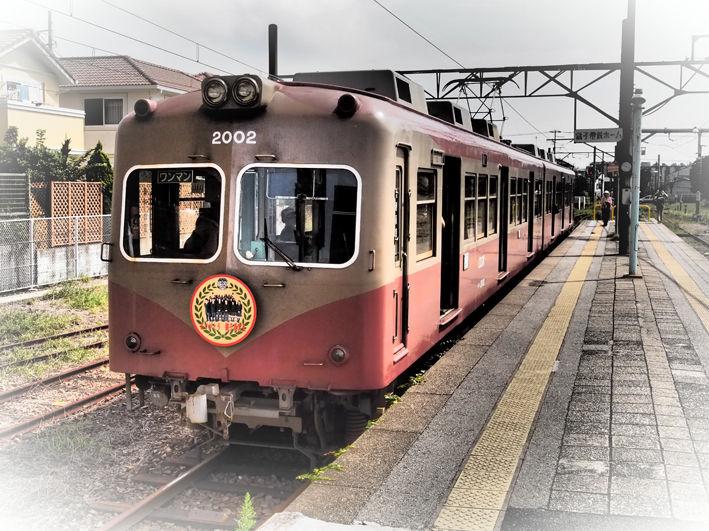 旅の残像 夏の名残りの銚子電鉄