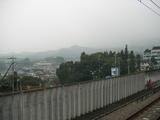 駅からの景色