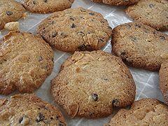 アーモンドチョコチップクッキー