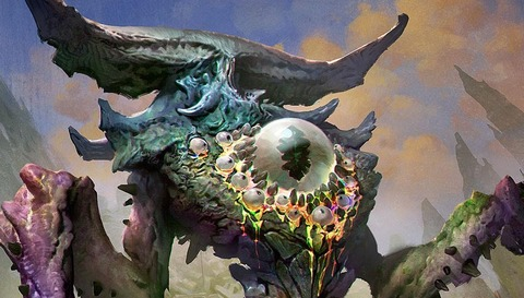 Thought-Knot-Seer-MtG-Art-Oath-of-the-Gatewatch-