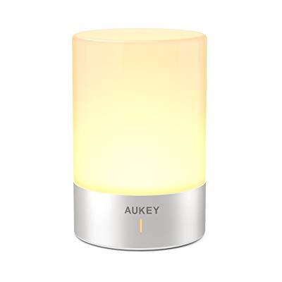 AUKEY バッテリー内蔵充電式LEDベッドサイドランプ LT-ST21