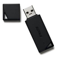 BUFFALO どっちもUSBメモリー 64GB RUF2-K64GR-BK/N