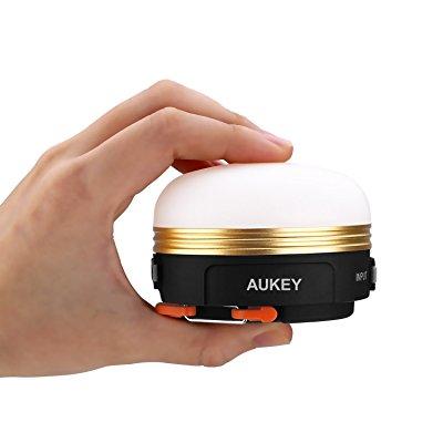 AUKEY バッテリー内蔵 充電式LEDランタン LT-SCL01