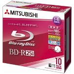 MITSUBISHI VBR130RSP10 6倍速対応 録画用BD-R 10枚