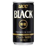 UCC ブラック無糖 185g