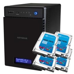 NETGEAR ReadyNAS 104 RN10400-12TB04-ST