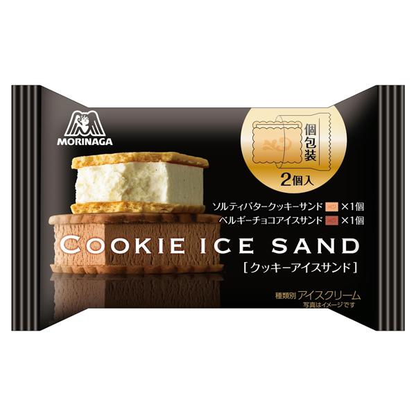 森永 クッキーアイスサンド