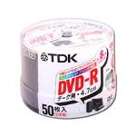 TDK DVD-R47PWDX50PK 8倍速対応高品質国産DVD-R 50枚