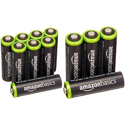 Amazonベーシック 充電式ニッケル水素電池 単3形12個パック