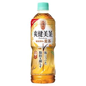 爽健美茶 健康素材の麦茶 600ml