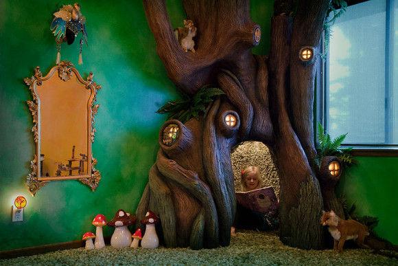 娘の為に作った妖精の樹の部屋9