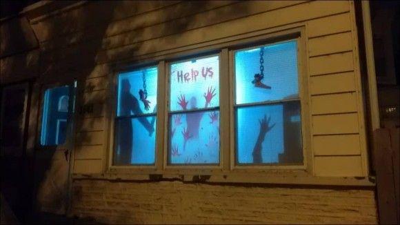 隣人を怖がらせよう(ハロウィン)16