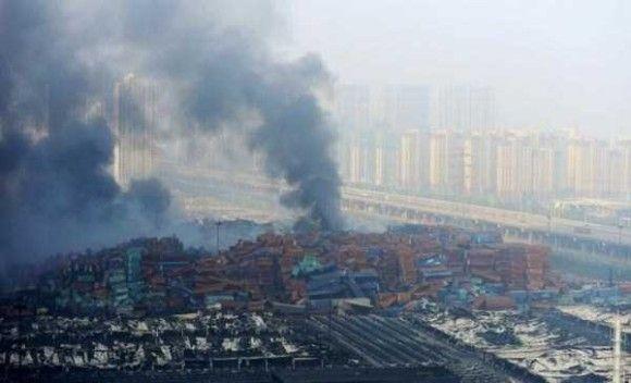 天津爆発画像15